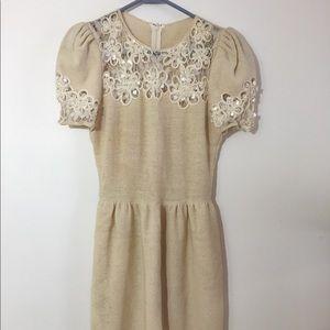 Vintage Adolfo Saks Fith Avenue cocktail dress